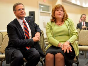 UM Chancellor Preferred Candidate Jeffrey Vitter and his wife Sharon Vitter