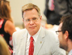 University of Mississippi chancellor Jeffrey Vitte